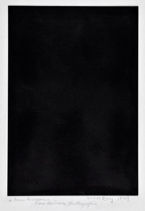 Louis Aragon Ma dernière fhotographie 1929
