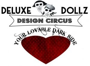 Deluxe Dollz design circus logo