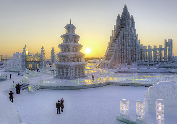 Harbin, Ice and Snow Festival/forrás: web