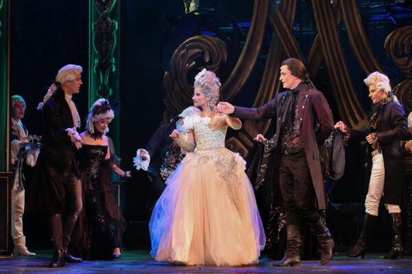 Marie-Antoinette a mennybe menetel