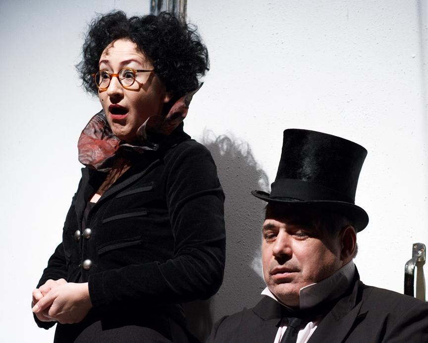 Spolarics Andrea, Ilyés Róbert. Fotó: Borovi Dániel - Budaörsi Latinovits Színház