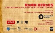 Roma Hősök – I. Nemzetközi Roma Storytelling Fesztivál