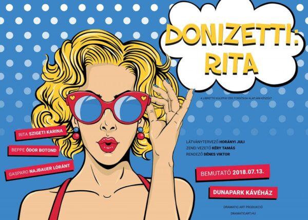 DONIZETTI: RITA – Vígopera egy étkezésben